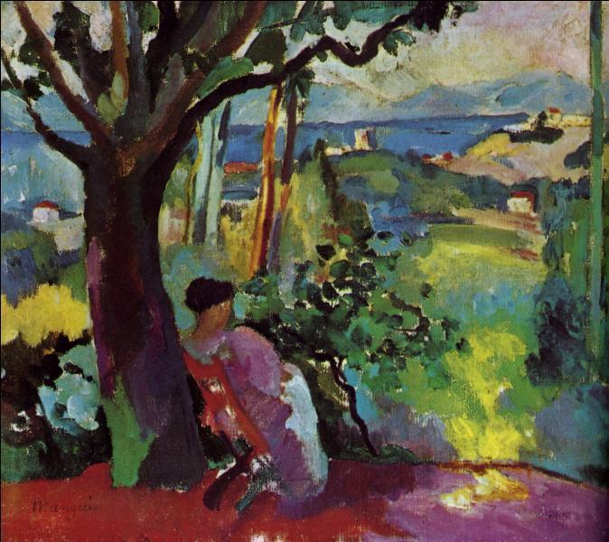 Qui a peint Le repos à la villa Demygiore?