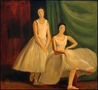 Qui a peint Deux danseuses au repos ?