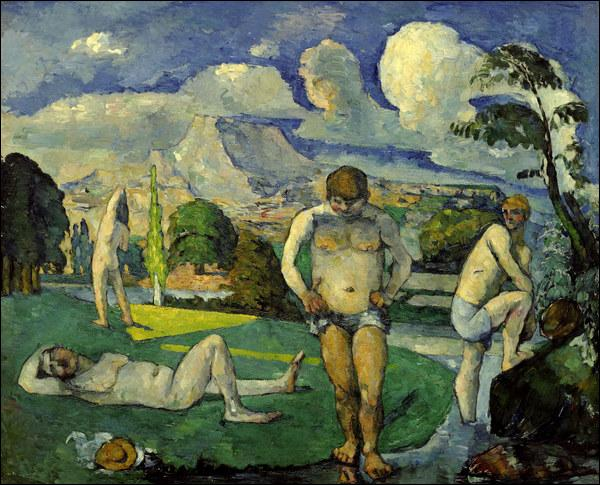 Qui a peint Les baigneurs au repos ?