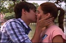 Dans quel épisode de la série se sont-ils embrassés ?