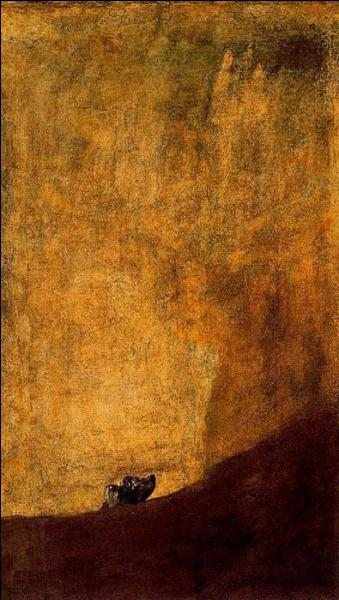 """Qui a peint """"Chien enterré dans le sable"""" ?"""