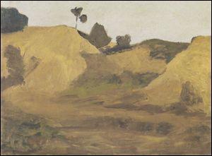 """Qui a peint """"Dune de sable en Weyerberg"""" ?"""