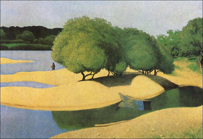 """Qui a peint """"Les bancs de sable sur la Loire"""" ?"""