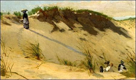"""Qui a peint """"La dune de sable"""" ?"""