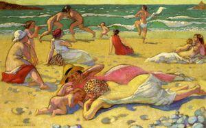 Le sable dans les tableaux