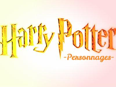 Personnages Harry Potter (facile)