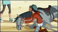 Quel cheval de la série est mort ?