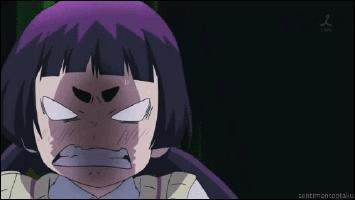 Rin appelle souvent Izumo 'Gros sourcils'.
