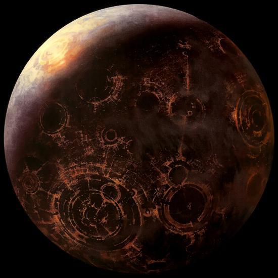 Pour commencer voyons si vous savez reconnaître les planètes vues d'un vaisseau. Alors, quelle est cette planète ?