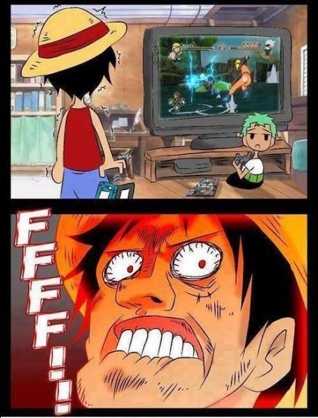 Qui a trahi One Piece pour jouer à des jeux vidéo de Naruto ?