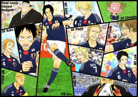 Plusieurs personnages de One Piece sont rentrés dans l'équipe nationale du Japon ! Mais qui est le capitaine de cette équipe ?