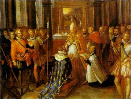 Dans quelle cathédrale Henri IV a-t-il été sacré ?