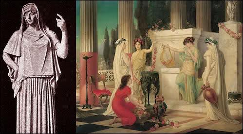 Qui était la déesse romaine du Feu sacré ?