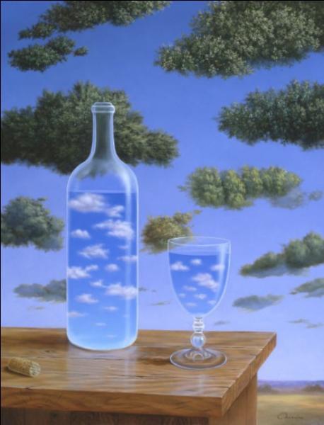 Qui a peint Nuages en bouteille ?