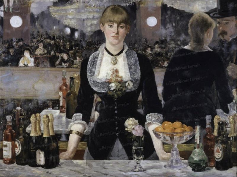 Qui a peint Bar aux Folies bergères ?