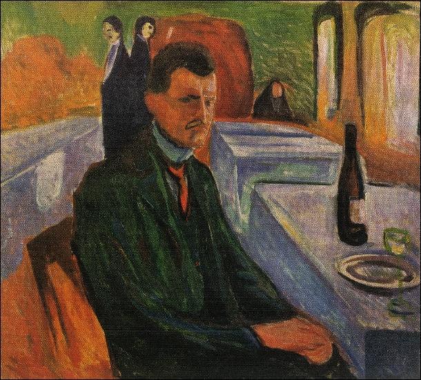 Qui a peint Autoportrait à la bouteille ?