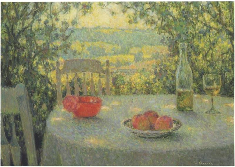 Qui a peint La table ?