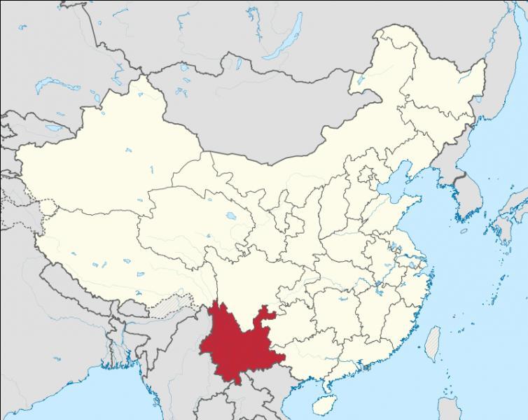 Quelle est la capitale de la province de Yunnan ?