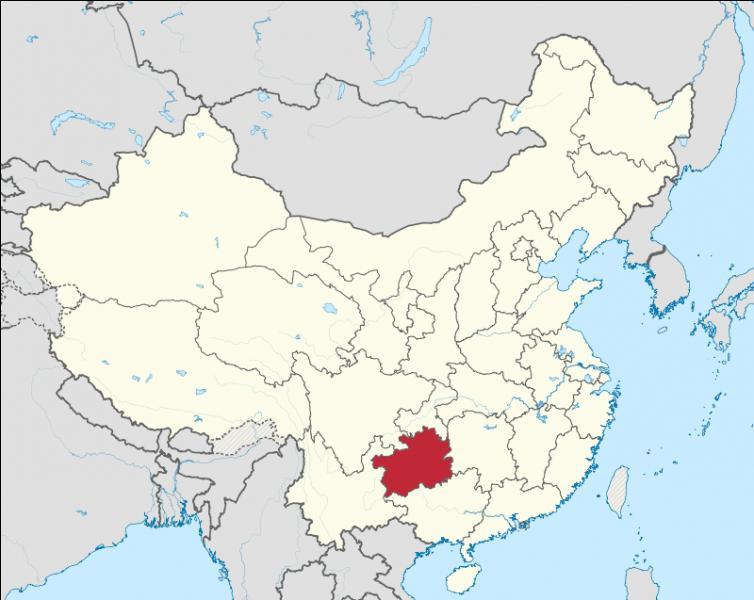 Quelle est la capitale de la province de Guizhou ?