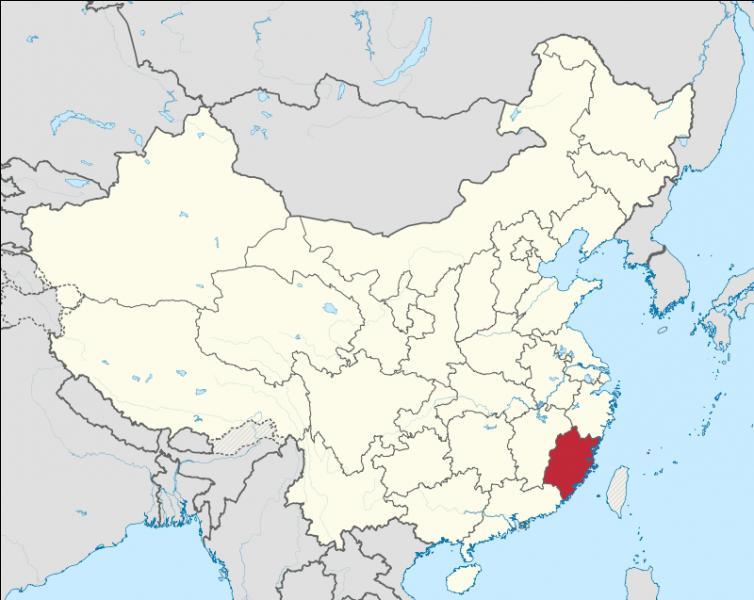 Quelle est la capitale de la province de Fujian ?