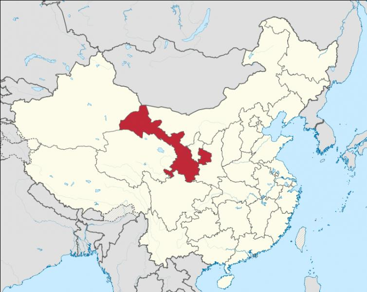 Quelle est la capitale de la province de Gansu ?