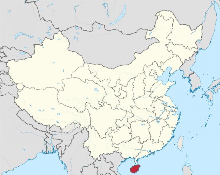 Quelle est la capitale de la province de Hainan ?
