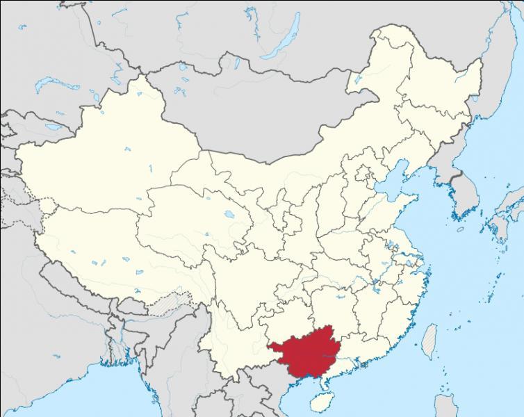 Quelle est la capitale de la région autonome de Guangxi ?