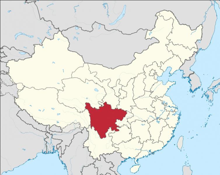 Quelle est la capitale de la province de Sichuan ?