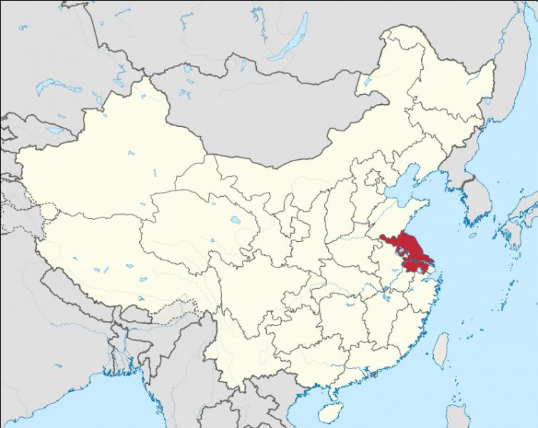 Quelle est la capitale de la province de Jiangsu ?