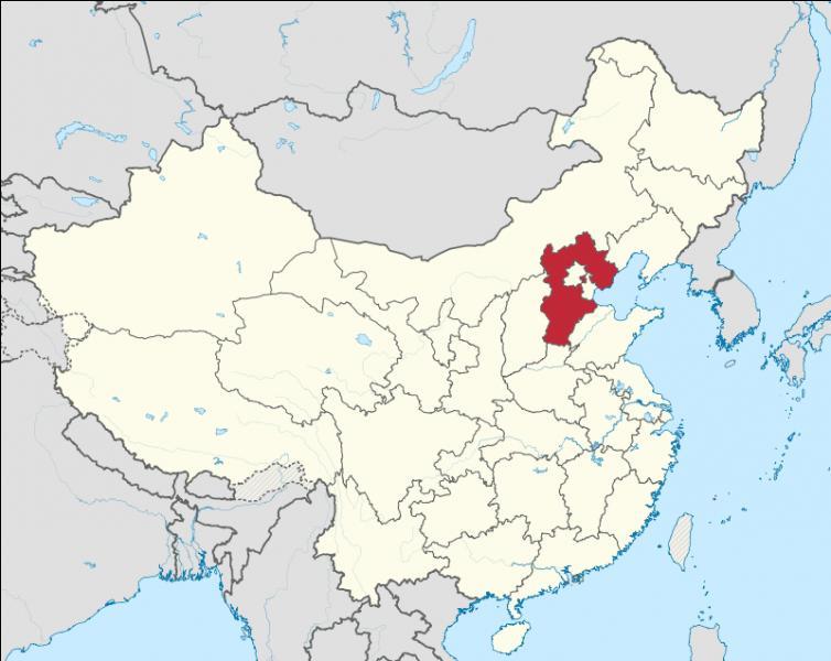 Quelle est la capitale de la province de Hebei ?