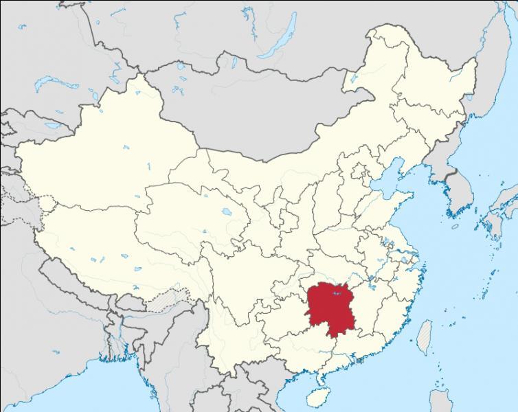 Quelle est la capitale de la province de Hunan ?