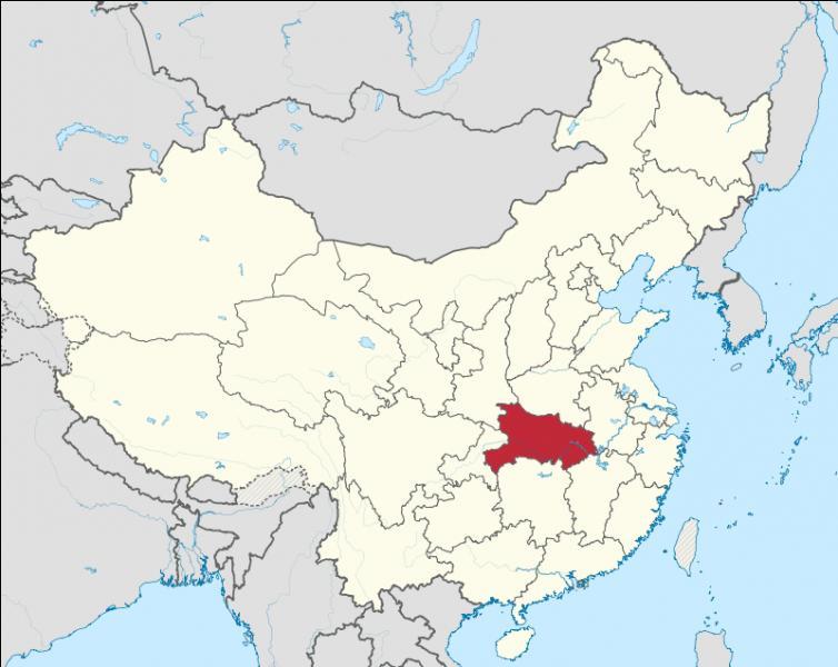 Quelle est la capitale de la province de Hubei ?