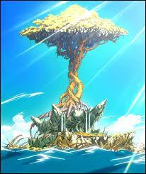 Par qui est protégée l'île de Tenro ?
