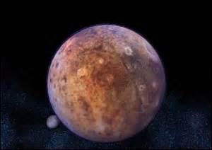 C'est la planète la plus lointaine du système solaire, elle est actuellement plus proche du Soleil que Neptune. Elle est peu connue car aucune sonde ne l'a survolée. D'après les astronomes, il pourrait exister une dixième planète au-delà de celle-ci, mais ils ne l'ont pas encore trouvée. Quelle planète est-ce ?