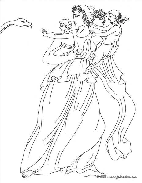 Qui est la mère d'Artémis et Apollon ?