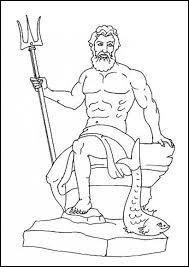 Qui est le frère de Zeus, seigneur de la mer, des océans et des cataclysmes naturels ?