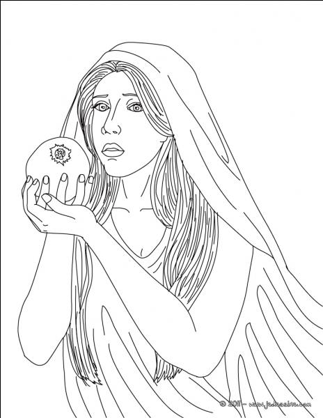 Qui est l'épouse d'Hadès (elle représente la fille) ?