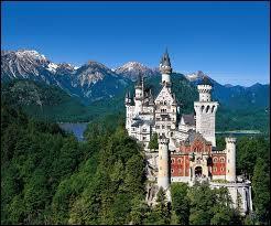 Le château de Neuschwanstein a été construit en 1886. À 200 mètres d'altitude, c'est le plus célèbre château :