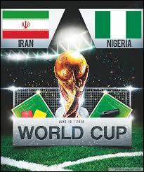 Quel a été le score lors de la rencontre Iran-Nigéria ?