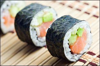 Le sushi est un plat :