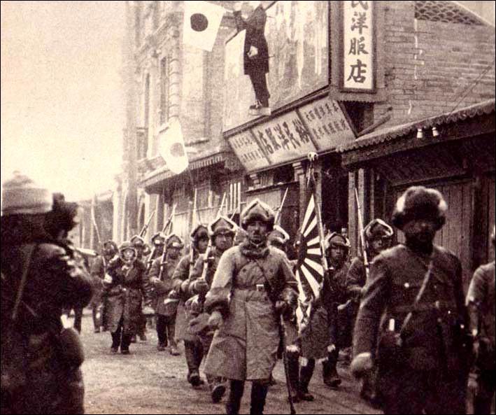 En 1931, ils ont été envahis, oui mais ils sont :
