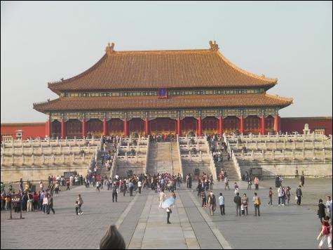 La Cité interdite est un palais impérial :