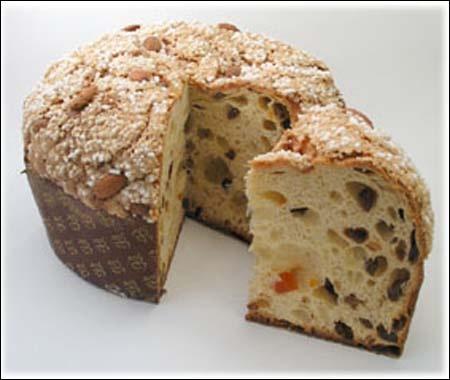 Quel gâteau brioché garni de raisins secs et de cédrat confit, est une spécialité milanaise ?