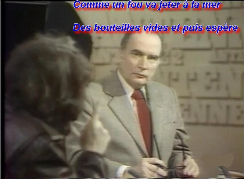 Qui est en colère le 19 mars 1980 sur le plateau de télévision ?