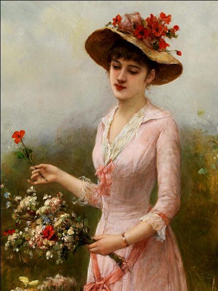 Qui a peint cette femme en rose ?