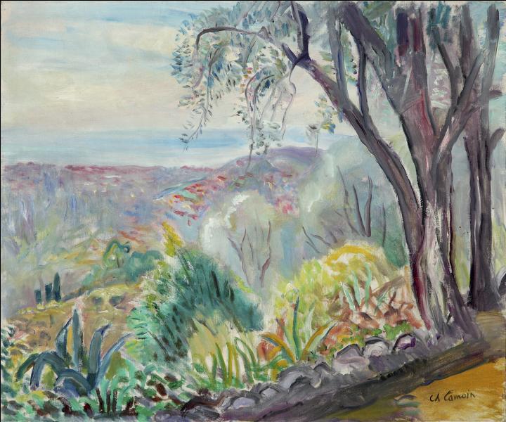 Qui a peint Vue sur Nice ?