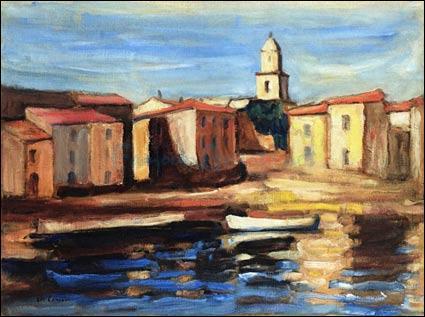 Qui a peint Le clocher de Saint-Tropez et la conche ?
