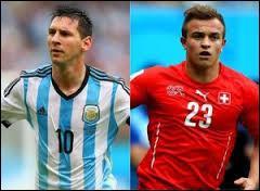 Qui a marqué lors du match Suisse-Argentine ?