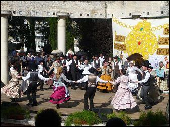 Le corridinho est une danse traditionnelle :