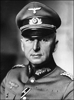 Ce maréchal allemand mit au point le plan d'invasion de la France et fut souvent considéré comme l'un des meilleurs généraux allemands de la Seconde Guerre mondiale. Qui est-il ?